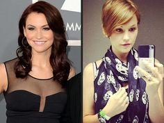 Linda transformação  #shorthair #cabeloscurtos #hairstyle #hair #cabelos #mulheres #cortesdecabelocurto #shorthaircut