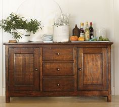 Do something similar for the sideboard in the kitchen