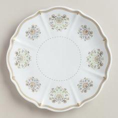 Downton Abbey Collection ~ Downton Abbey Plates ~ #WorldMarket Holiday Gifts, #DowntonAbbey #spon