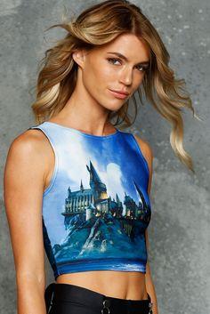 Hogwarts Castle Wifey Top - 48HR ($60AUD) by BlackMilk Clothing