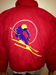 Vintage 1990 s RALPH LAUREN RL-92 Polo usa Ski Suicide Goose Down PWing  Stadium Patch Coat Jacket 3f4b8b536ad4f