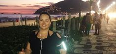 Caminhada com trote na Praia de Ipanema no final de tarde. Projeto Lia Caldas 4.0 com força total! #liacaldas40 #fitness #caminhada #workout #emagrecer #emagrecimento #weightloss #fatloss #ipanema #vidaativa #vidasaudavel