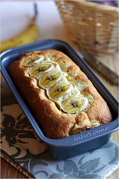 Banana Bread (Banana Cake) recipe is the most-pinned picture on http://rasamalaysia.com