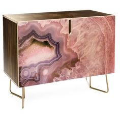 Emanuela Carratoni pale pink agate Credenza ($999) ❤ liked on Polyvore featuring home, bed & bath, bedding, soft pink bedding, pastel pink bedding, blush pink bedding, light pink bedding and pink baby bedding