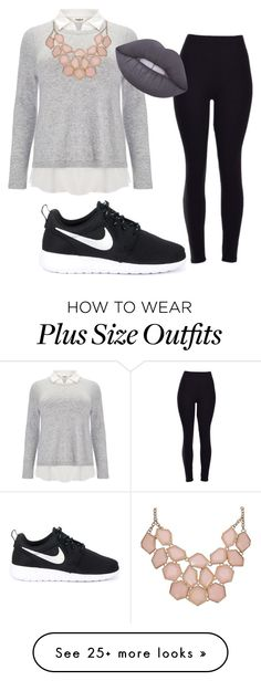 """""""work to day"""" by stay-true-loyal on Polyvore featuring Studio 8, Lime Crime and NIKE"""