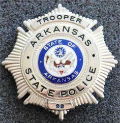 "Arkansas State Police 38/44 Heavy Duty 4"""