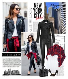 """""""Get the Look - NYC Girl - Blogger Style"""" by mcheffer ❤ liked on Polyvore featuring Helmut Lang, MuuBaa, Aéropostale, Balenciaga, Christian Louboutin, women's clothing, women, female, woman and misses"""