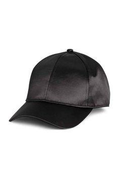 Satin cap - Black - Ladies | H&M GB 1