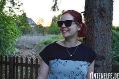 Blog Tintenelfe.de - Mein erstes Kimono Tee #nähen #sewing