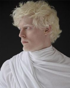 Albino, the new white.   Truly, the real white.