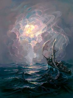 Spellbinding Fantasy Paintings by John Pitre via My Modern Met