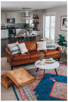 Get inspired by Bohemian Living Room Design photo by Joss & Main. Joss & Main lets you find the designer products in the photo and get ideas from thousands of other Bohemian Living Room Design photos. Boho Living Room, Apartment Living, Home And Living, Living Spaces, Cozy Eclectic Living Room, Eclectic Kitchen, Hipster Living Rooms, Earthy Living Room, Eclectic Decor