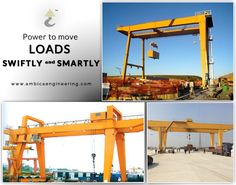 The #EOTCrane comes with end carriages, trolley assemble, bridge girders, platforms, and long term travel machinery; all this makes it a solid choice for your industry. Visit us at: http://www.ambicaengineering.com/EOT-Cranes
