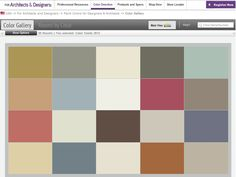 Benjamin Moore's color palette for Fall 2012 takes brights in a muted direction.