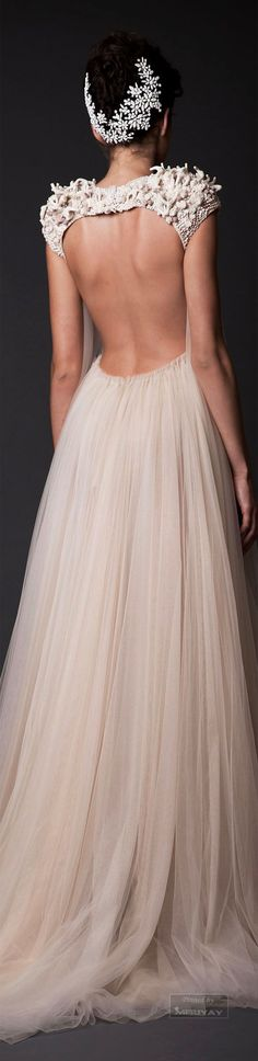 In love with Krikor Jabotian Fall-winter 2014-2015 #couture #weddingdress