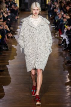 Coat w the shoes i LOVE!  Paris- Stella McCartney | Fall 2014 Ready-to-Wear Collection | Style.com