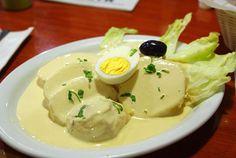 Papas a la Huancaina, looks delicious right?