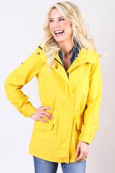 Classic Yellow Waterproof Raincoat