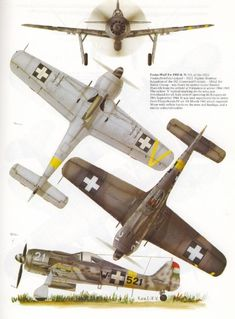 Focke Wulf 190 in Hungarian service Aircraft Parts, Ww2 Aircraft, Fighter Aircraft, Military Aircraft, Fighter Jets, Luftwaffe, Focke Wulf 190, Airplane Drawing, Aircraft Painting