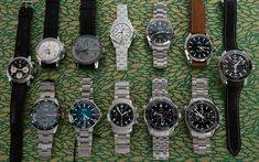 Our update today has steel chronographs from BlancPain, Zenith, Omega, Girard-Perregaux, and MontBlanc.  We've also added diver watches from Omega, Oris, and Chanel. Let us know if you have questions on any of our pieces. Girard Perregaux, Popular Watches, Mechanical Watch, Chronograph, Omega, Chanel, Steel, This Or That Questions, Accessories