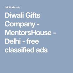 Diwali Gifts Company - MentorsHouse - Delhi - free classified ads