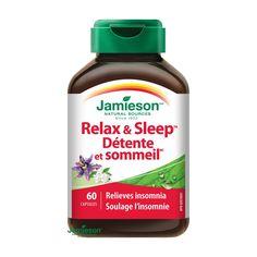 JAMIESON RELAX A SPÁNOK HERBAL COMPLEX Relax, Omega 3, Herbalism, Herbal Medicine
