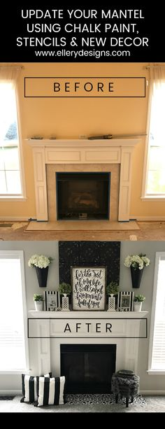 Fireplace Makeover: