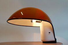 Vintage Albanella Table Lamp by Sergio Brazzoli and Ermanno Lampa for Harvey Guzzini