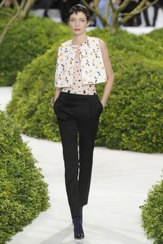 Christian Dior haute couture spring 2013 runway