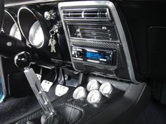 2010-2013 camaro center console fits in a 67 or 68