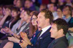 Benedict Cumberbatch na festiwalu Off Plus Camera <---oh that profile