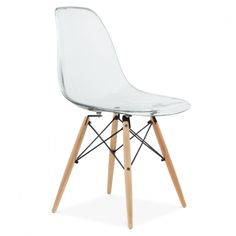 Smokey Grey Eames Style DSW Chair   Side & Cafe Chairs   Cult UK