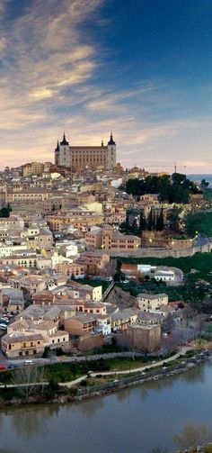 Toledo, Spain.  A visit we made the year we married ... so 27 years ago .. we are both ready for a new adventure to this amazing city!