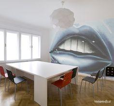 Lips wallpaper by Fototapeta4u.pl