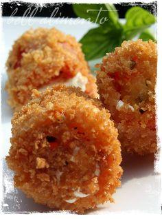 Fried Stuffed Tomatoes