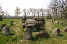 Dolmen/Hunebed D50 - Noord-Sleen, the Netherlands.........seems these were all over Europe...another one added to 'the list'!