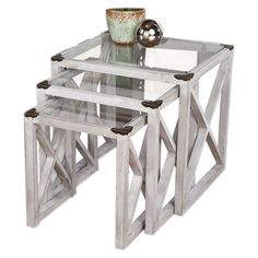 Moby Nesting Table Set