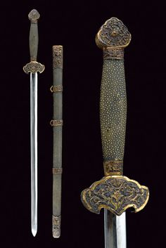 A jian (sword)    provenance: China dating: second quarter of the 20th Century.