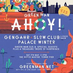 News: Green Man relaunches Boat Party