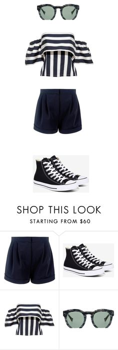 """""""Untitled #38"""" by immaninja-384 ❤ liked on Polyvore featuring Converse and Grey Ant"""