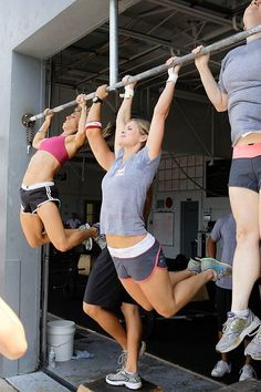 'your girl does pilates. i do pull ups'...#crossfit...This girl does Yoga and does Pull ups!