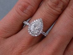 Perfect one and a half carat