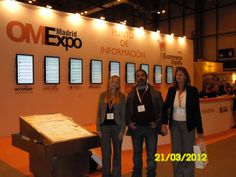 eComa team at Expo E-Commerce in Madrid.