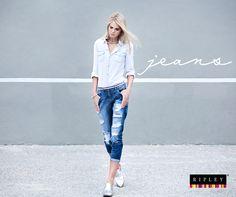 Boyfriend, un estilo de jeans que te fascinará