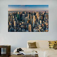 New York City Skyline Mural