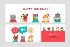 Cute Christmas Cats Bundle By Marish