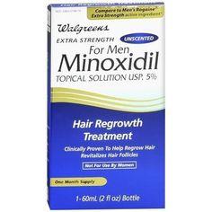 Walgreens Minoxidil 5% Hair Regrowth Treatment Unscented - 2 oz.