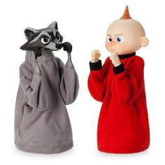 Disney Store Jack-Jack and Raccoon Boxing Puppet Set Incredibles 2 New With Box Mickey Mouse Club, Disney Mickey Mouse, Disney Pixar, Walt Disney, Minnie Bow, Dog Pajamas, How To Make Animations, Disney Sketches, Jack And Jack