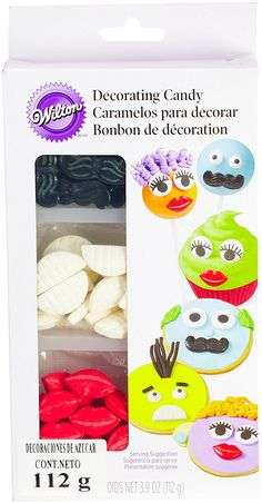 Wilton 710-1196 Icing Candy Decorating Stencil, Lips and Mustaches ** Read more reviews of the product by visiting the link on the image.