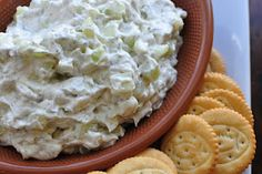 Cucumber dip - I'm pretty sure this is going to be my new favorite.
